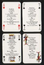 Playing cards Non-standard Collectible   Set for life